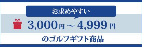 3000円ゴルフギフト